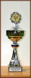 Pokal der Wedel Starlets für den dritten Platz bei der LM 2007