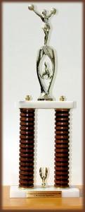 Pokal der Wedel Traffics von der LM 2008 (Platz 1 Junior Groupstunt)