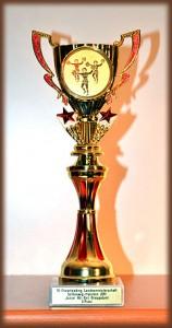 """Pokal der Groupstunt-Formation """"Skywards"""" für den dritten Platz bei der LM 2011"""