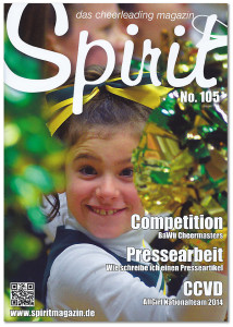 Ein Wedel-Starlets-Cheerleader als Covergirl des Spirit-Magazins!