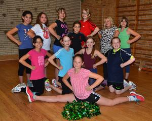 Cheerleading-AG an der GuGS Pinneberg