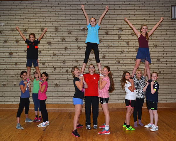 Cheerleading-AG an der GuGS Pinneberg