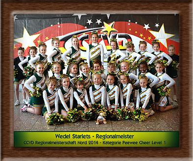 RM 2014 - Das Meisterschaftsteam der Wedel Starlets