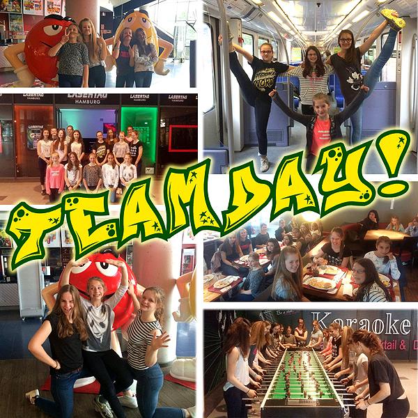 Teamday bei den Skylights (Mai 2016)