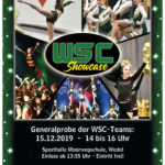 Handzettel WSC Showcase 2019