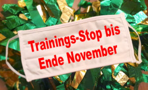 Covid-19: Trainings-Stop bis Ende November