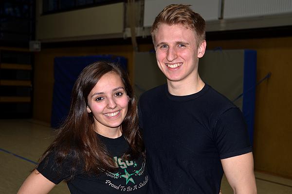WSC Coaching Staff: Maristella Loi und Tobias Messerschmidt