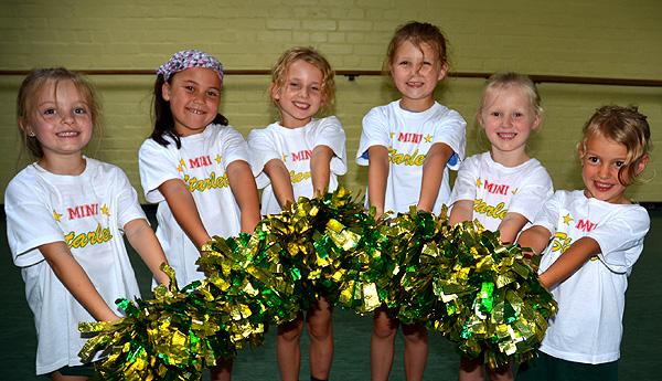 Die Wedel MiniStarlets Cheerleader
