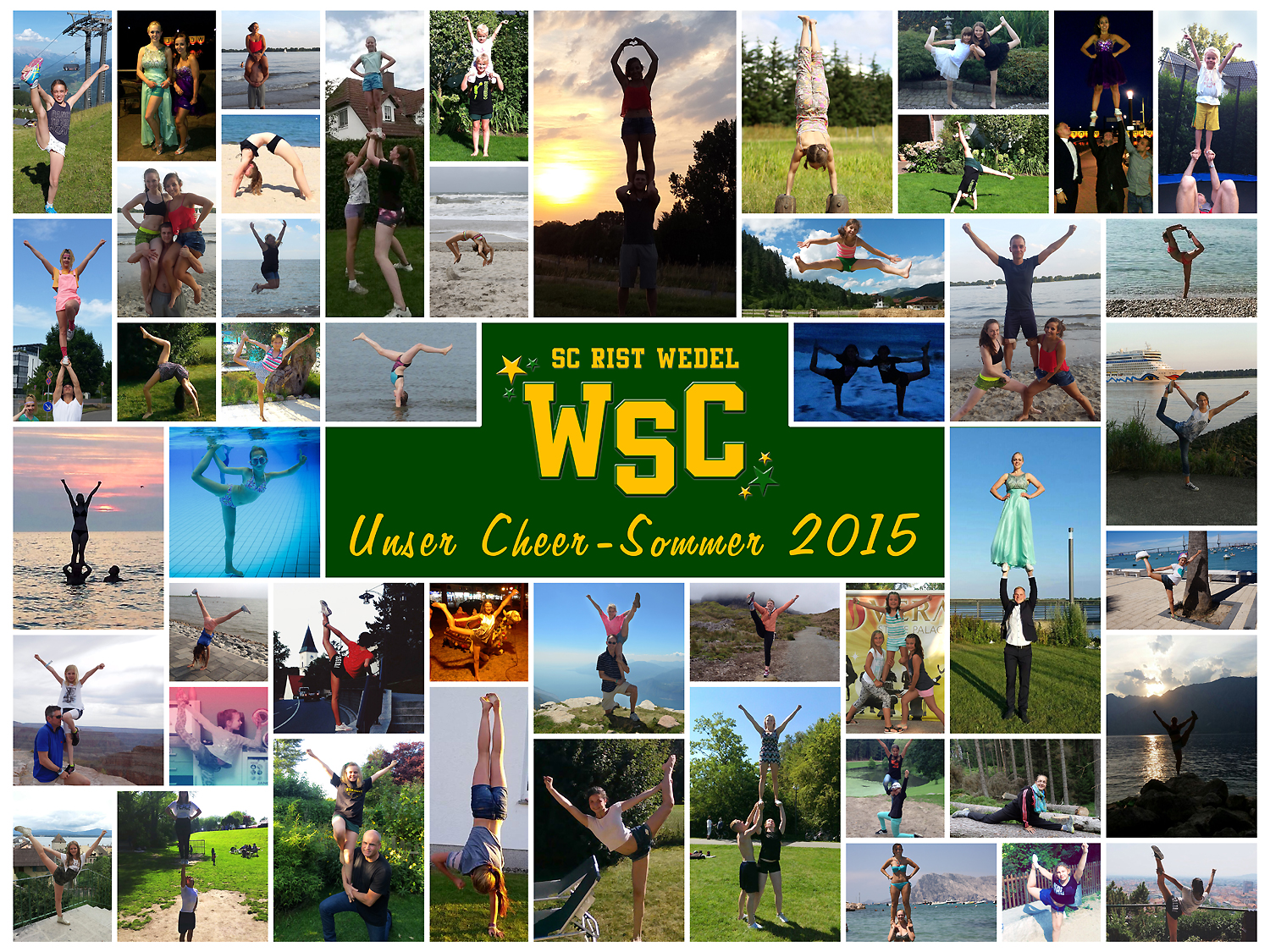 WSC Cheerleader: Unser Cheer-Sommer 2015