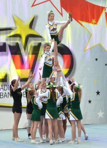Wedel Skylights - Platz 4 Regionalmeisterschaft 2014
