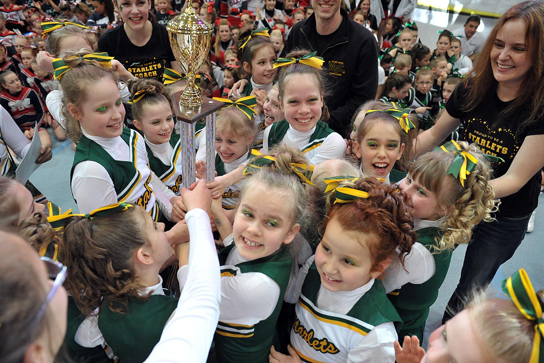 Die Wedel Starlets sind Regionalmeister 2014