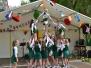 Auftritt beim Jubiläums-Straßenfest