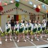 Auftritt der Wedel Starlets beim Straßenfest Hafenfstraße