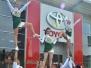 Auftritte bei Toyota Dello