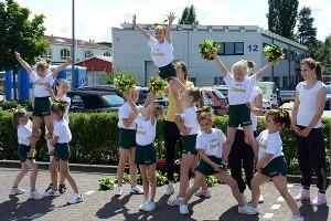 Auftritt der MiniStarlets beim EDEKA-Kinderfest 2012
