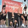 WSC-Cheerleader beim Wedeler Hafenfest 2019