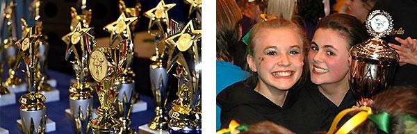 Impressionen von Cheerleading-Meisterschaften